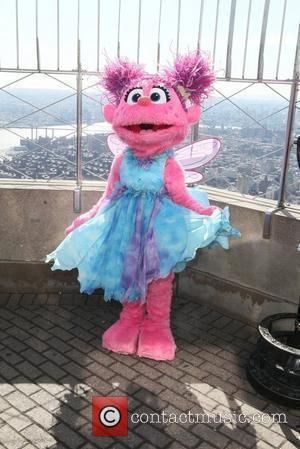 Abby Cadabby Sesame Street characters visit the top of the Empire State Building to promote 'Sesame Street Live : 123...