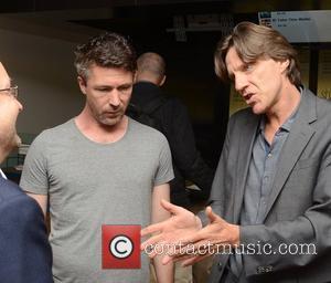 Aidan Gillen & James Marsh,  at the Irish premiere of 'Shadow Dancer'at the Lighthouse Cinema. Dublin, Ireland - 21.08.12