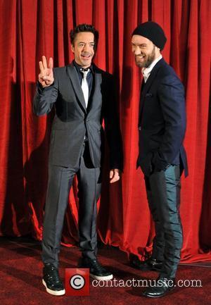 Robert Downey Jr, Jude Law 'Sherlock Holmes: A Game of Shadows' UK film premiere held at the Empire Leicester Square...
