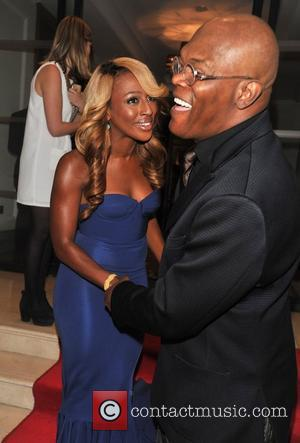 Alexandra Burke and Samuel L Jackson Shooting Stars Gala Dinner held at the Corinthia Hotel. London, England - 20.10.12