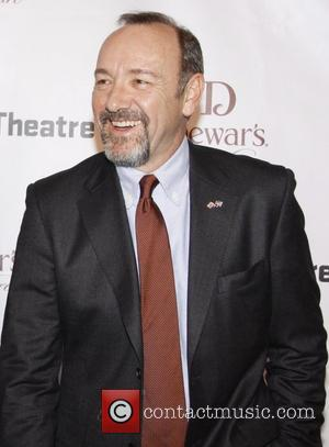 Kevin Spacey The Pershing Square Signature Center Opening Gala Celebration held at The Signature Center - Arrivals New York City,...
