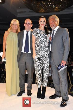 Gaby Rossling, Jessie J and Tom Jones The Nordoff Robbins O2 Silver Clef Awards held at the Hilton Park Lane....