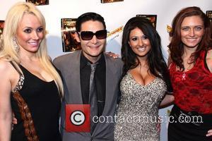 Angel Monroe, Corey Feldman, and Jamileh Hanna  6 Degrees Of Hell Premiere held at  Laemmle Music Hall, Los...