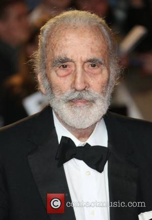 Sir Christopher Lee Receives British Film Institute Fellowship Presented By Surprise Guest Johnny Depp