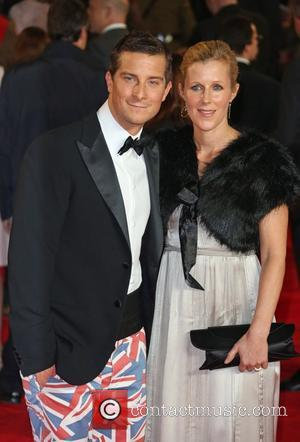 Bear Grylls with his wife James Bond Skyfall World Premiere held at the Royal Albert Hall- Arrivals London, England -...