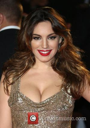 Kelly Brook James Bond Skyfall World Premiere held at the Royal Albert Hall- Arrivals London, England - 23.10.12