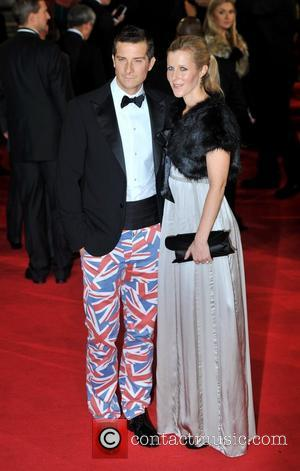 Bear Grylls and guest Royal World Premiere of Skyfall held at the Royal Albert Hall - Arrivals. London, England -...