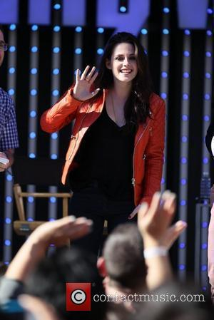 Kristen Stewart and Chris Hemsworth  Snow White and the Huntsman Q&A session with fans at Universal Citywalk in Universal...