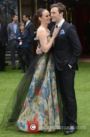 Sam Claflin and Laura Haddock  World Premiere of Snow White and the Huntsman held at the Empire and the...