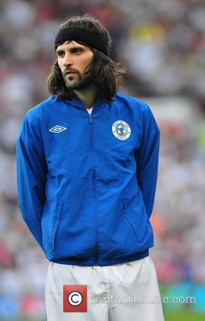 Serge Kasabian  Soccer Aid 2012 in support of UNICEF UK held at Old Trafford Manchester, England - 27.05.12