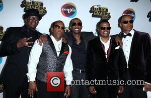 Bobby Brown, Michael Bivins, Ralph Tresvant, Ronnie Devoe, Ricky Bell 2012 Soul Train Awards at the fabulous Planet Hollywood Resort...