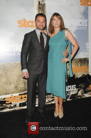 Nick Tarabay, Lucy Lawless  Premiere of Starz' Spartacus: Vengeance held at the ArcLight Cinemas Cinerama Dome Los Angeles, California...
