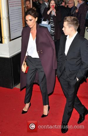 Victoria Beckham Works Hard To Set Example For Kids