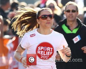 Melanie Chisholm, aka Mel C Sainsbury's Sport Relief Mile 2012 - London London, England - 25.03.12
