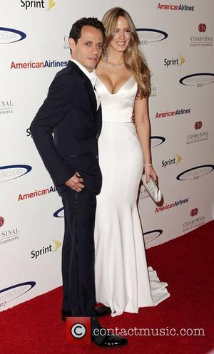 Marc Anthony and Shannon De Lima 27th Anniversary of Sports Spectacular at the Hyatt Regency Century Plaza Century City, California...