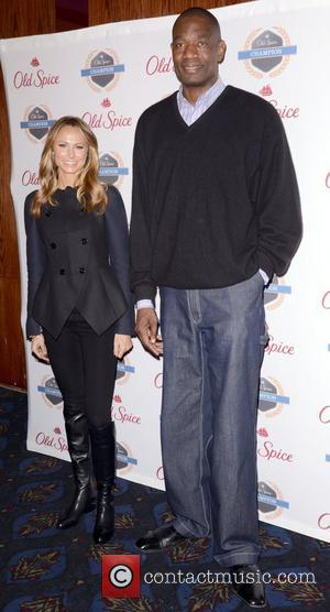 Stacy Keibler and Dikembe Mutombo , Dikembe Mutombo's 4.5 Weeks to Save The World Lauch Event, New York City, USA...