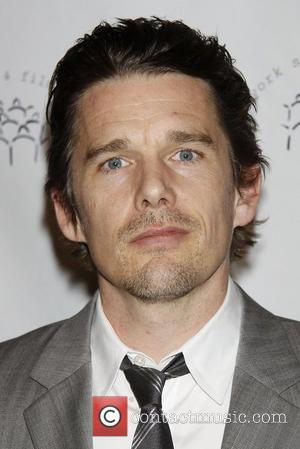 Ethan Hawke  The 2011 New York Stage and Film Winter Gala held at The Plaza Hotel - Arrivals....