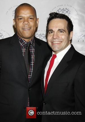 Jerry Dixon and Mario Cantone  The 2011 New York Stage and Film Winter Gala held at The Plaza Hotel...