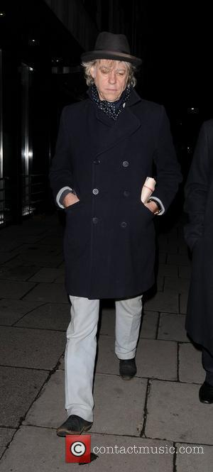 Sir Bob Geldof Stella McCartney store Christmas Lighting London, England - 29.11.11