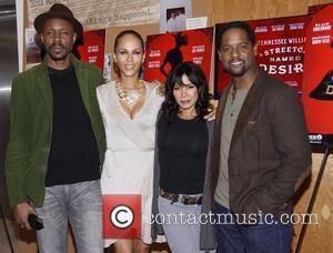 Wood Harris, Blair Underwood, Daphne Rubin-vega and Nicole Ari Parker