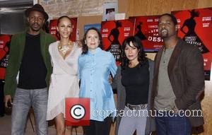 Wood Harris, Blair Underwood, Daphne Rubin-vega, Mann and Nicole Ari Parker
