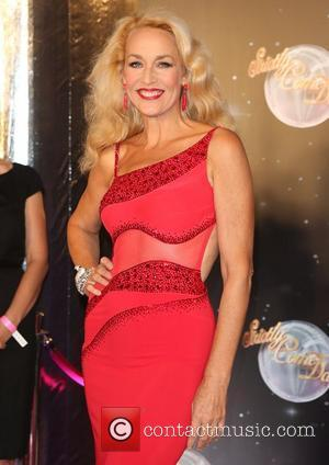 Jerry Hall and Strictly Come Dancing