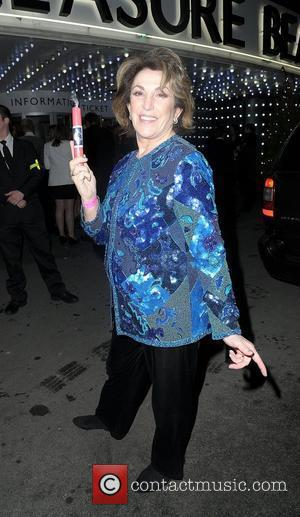 Edwina Currie,  at the Strictly Come Dancing Live Final held at the Pleasure Beach Casino. Blackpool, England - 17.12.11