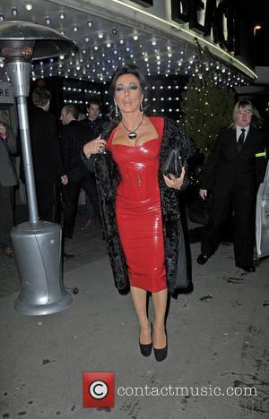 Nancy Dell'Olio ,  at the Strictly Come Dancing Live Final held at the Pleasure Beach Casino. Blackpool, England -...