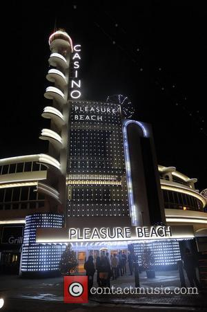 The Pleasure Beach Casino exterior,  at the Strictly Come Dancing Live Final held at the Pleasure Beach Casino. Blackpool,...