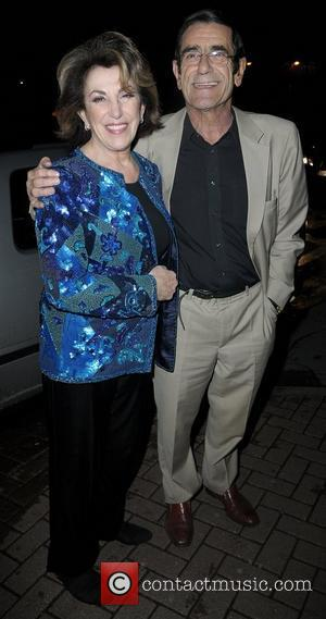 Edwina Currie and husband John Currie,  at the Strictly Come Dancing Live Final held at the Pleasure Beach Casino....