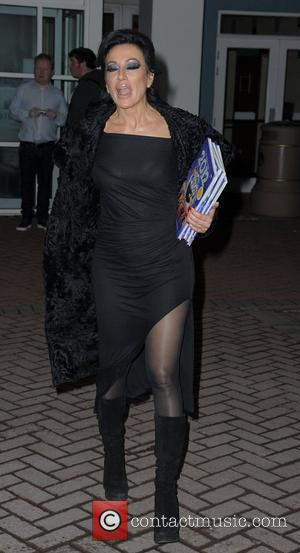 Nancy Dell'Olio,  at the Strictly Come Dancing Live Final held at the Pleasure Beach Casino. Blackpool, England - 17.12.11