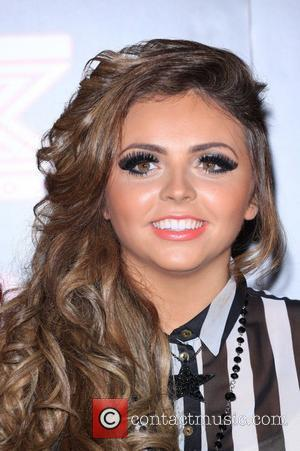 Jesy Nelson of Little Mix X Factor contestants perform at TalkTalk's secret gig - photocall London, England - 30.11.11
