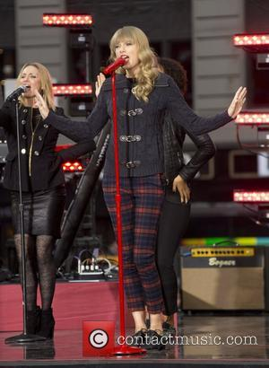 Taylor Swift, Times Square and Good Morning America