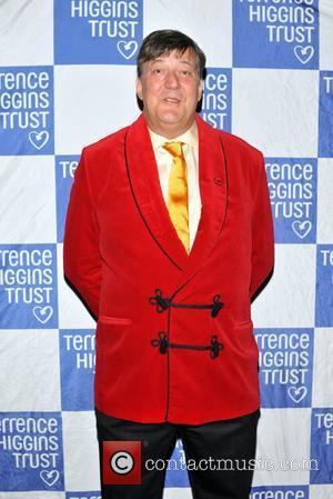 Stephen Fry Terrence Higgins Trust: Friends for Life - charity dinner  held at the Park Lane Hotel London, England...