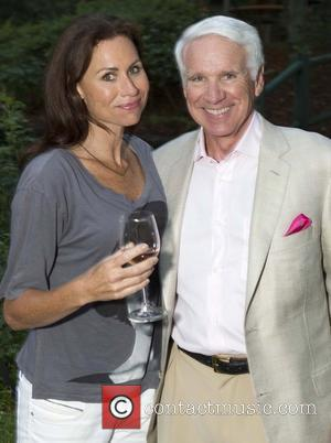 Minnie Driver and Timothy Blackburn 'The 24 Hour Plays' after performance dinner at Wolf Family Vineyard Yountville, California - 14.07.12