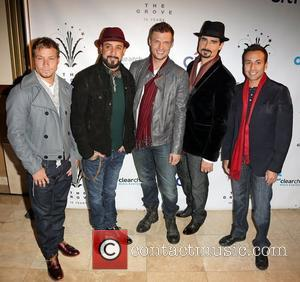 Backstreet Boys, A, L-r, Brian Littrell, J. Mclean, Nick Carter, Kevin Richardson and Howie Dorough
