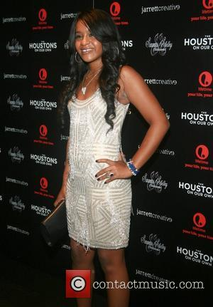 Bobbi Kristina Brown Lifetime's new reality series 'The Houstons: On Our Own' premiere launch party at the Tribeca Grand Hotel...