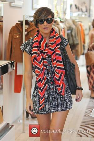 Frankie Sandford    'The Saturdays' shopping on Robertson Boulevard Los Angeles, California - 02.11.12