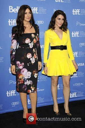 Monica Bellucci and Belcim Bilgin  2012 Toronto International Film Festival - 'Rhino Season' photo call at TIFF Bell Lightbox....