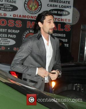 Adrien Brody Still Waiting To Take Tea With Gerard Butler After Auction Win