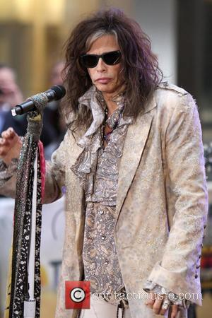 Steven Tyler of Aerosmith  performing live during the 'Today Show' concert series in New York City New York, USA...