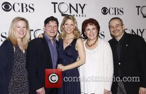 Kathleen Marshall, Michael McGrath, Kelli O'Hara, Judy Kaye and Joe DiPietro 'Meet the 2012 Tony Award Nominees' press reception, held...