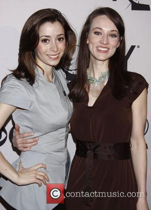Cristin Milioti and Elizabeth A. Davis 'Meet the 2012 Tony Award Nominees' press reception, held at the Millennium Broadway Hotel...