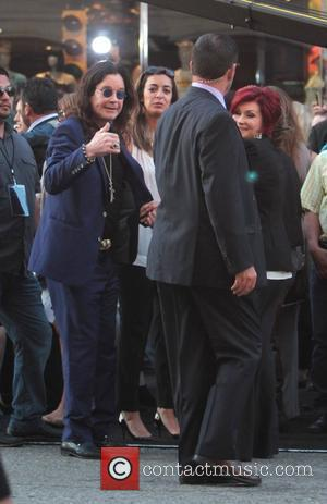 Osbourne Hails Wife's Charitable Timing