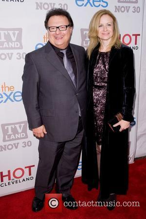 Wayne Knight and Guest TV Land holiday premiere party for 'Hot in Cleveland' & 'The Exes' at SD26 - Arrivals...