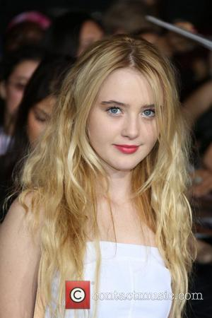 Actress Kathryn Newton  The premiere of 'The Twilight Saga: Breaking Dawn - Part 2' at Nokia Theatre L.A. Live...
