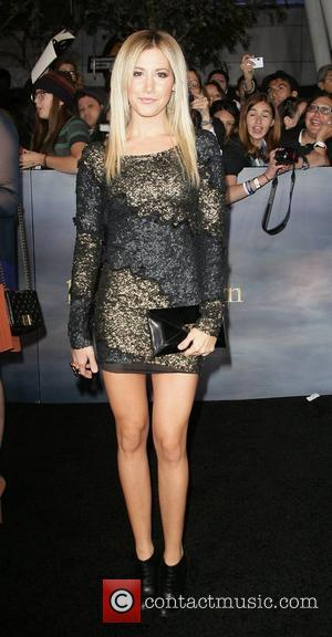 Ashley Tisdale The premiere of 'The Twilight Saga: Breaking Dawn - Part 2' at Nokia Theatre L.A. Live  Los...