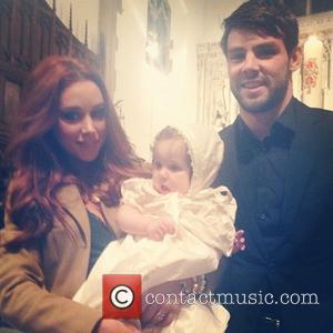 Irish Singer Una Healy Holds Christening For Baby Girl
