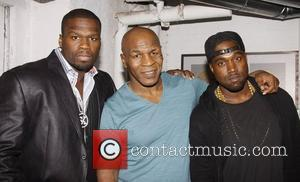 50 Cent, Kanye West and Mike Tyson