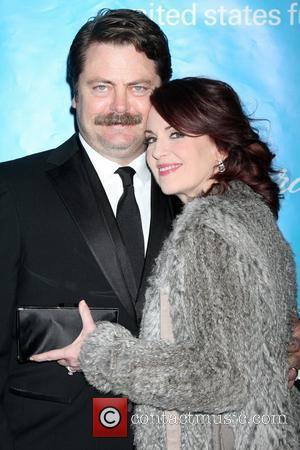 Megan Mullally and Nick Offerman The 2011 Unicef Ball at the Beverly Wilshire Four Seasons Hotel Beverly Hills, California -...